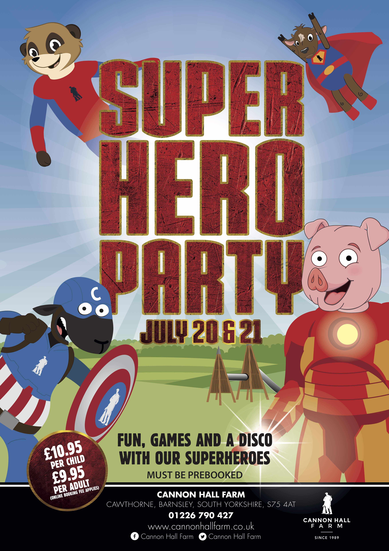 Calling Superhero Fans | Superhero Event